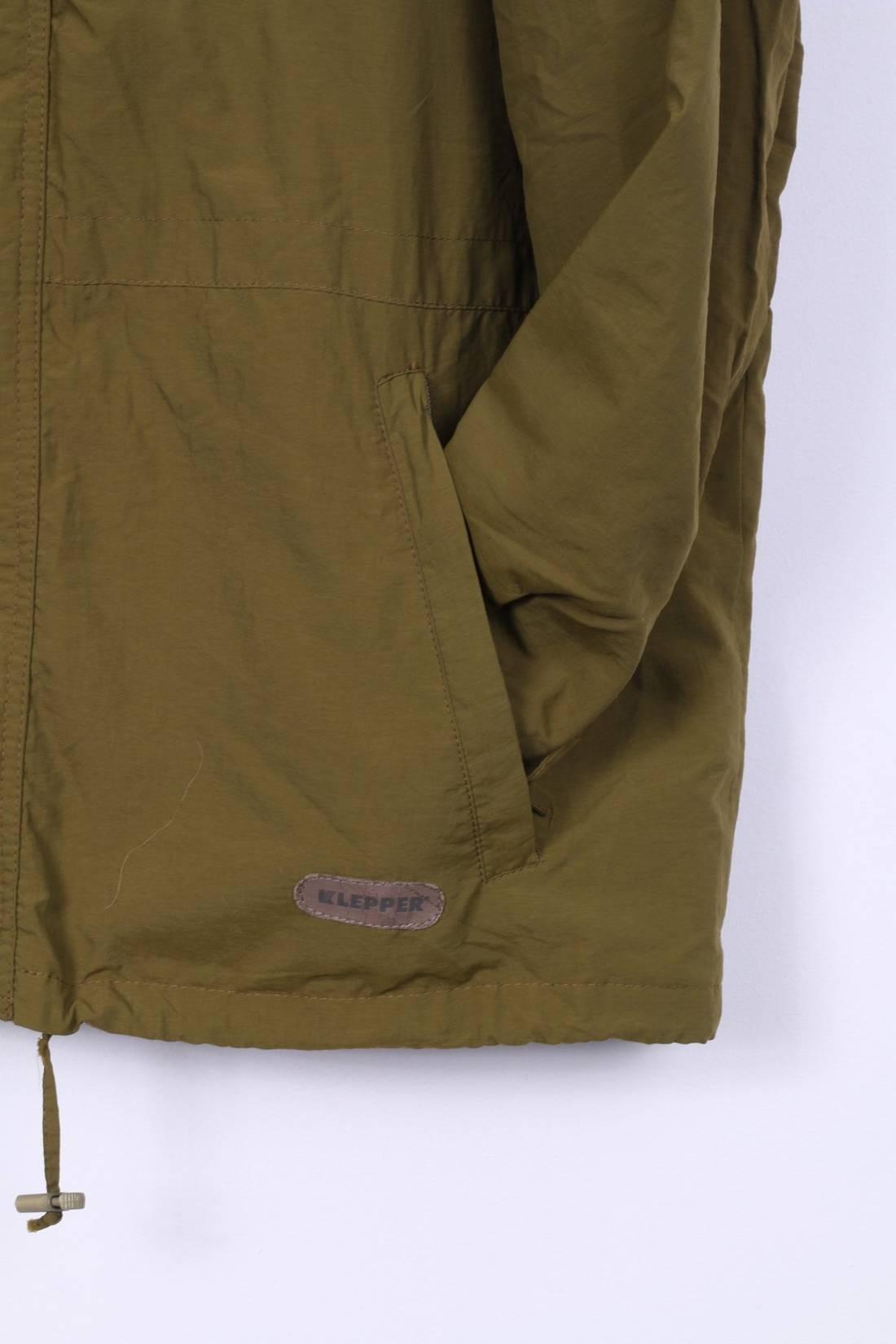 Klepper Mens 54 L/XL Harrington Jacket Green Nylon Gore-Tex Lightweight Sportswear jFqNUCDQlr