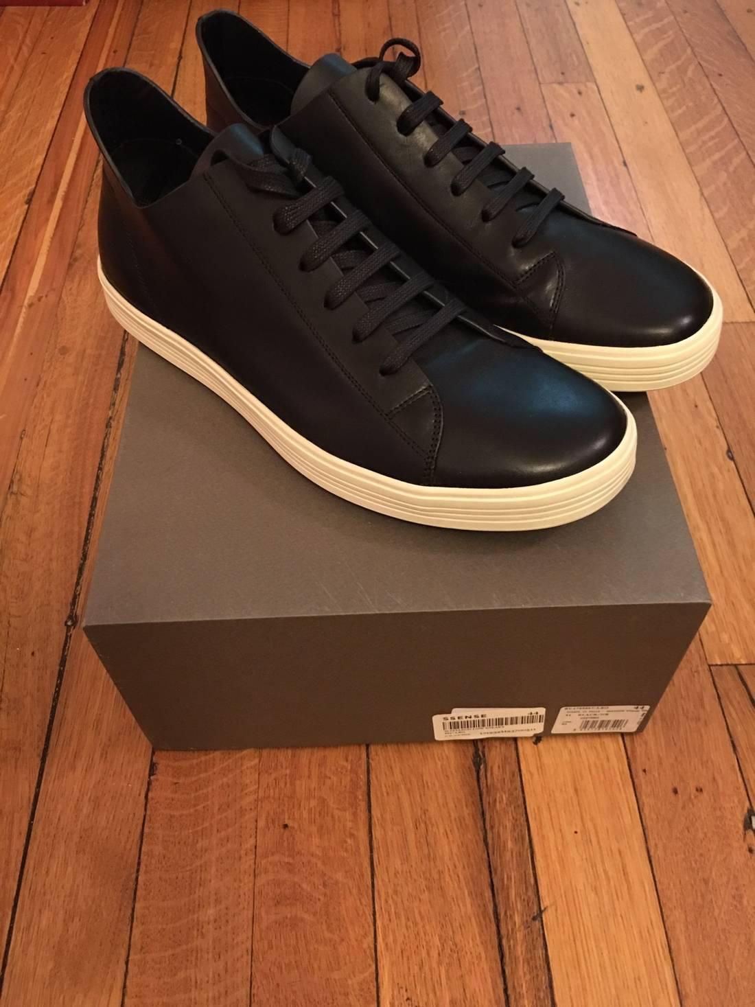 Rick Owens Black Mastodon Low Sneakers P47Czqq
