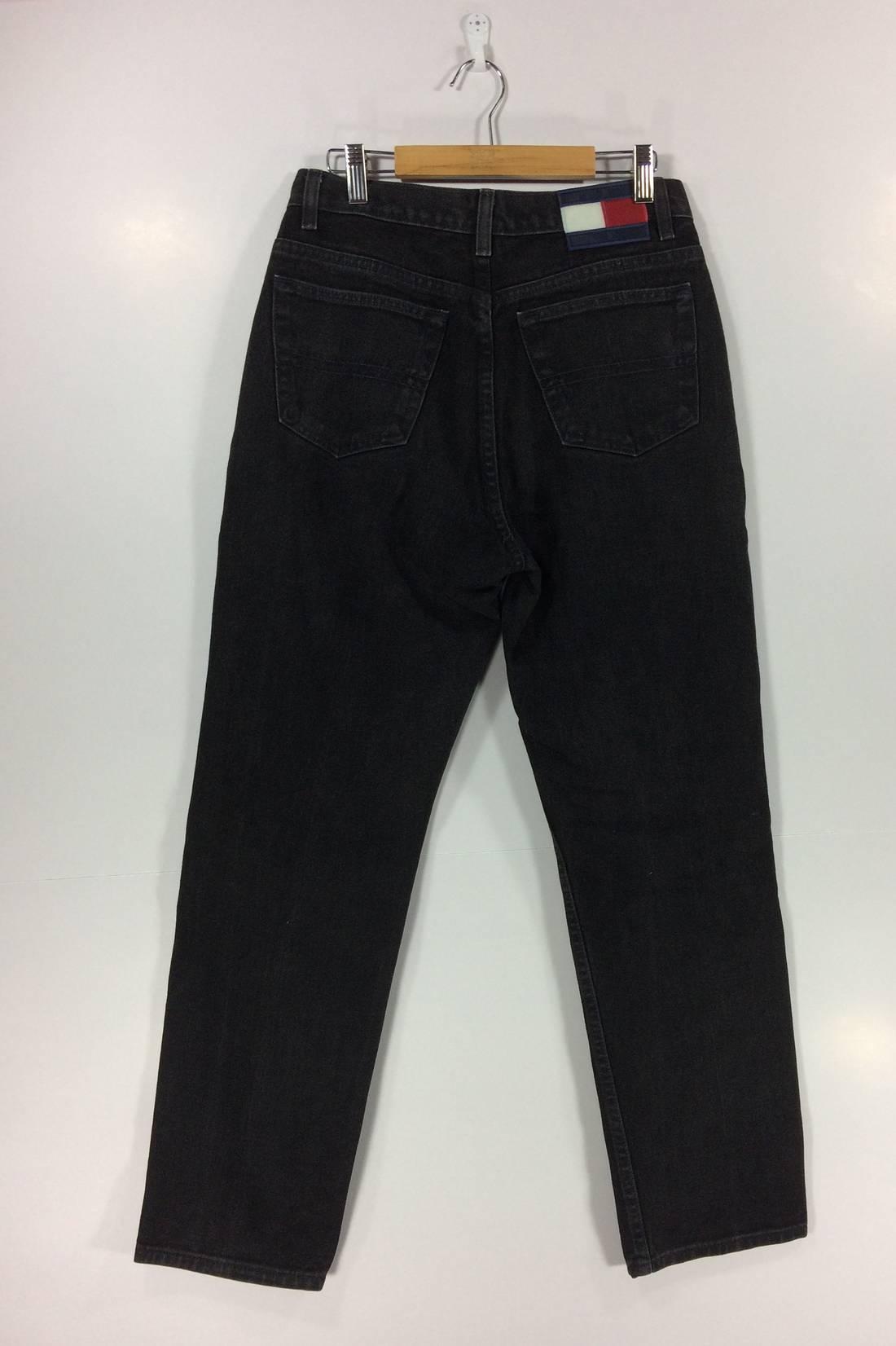 Vintage Tommy Hilfiger Jeans Swag 90s Hip Hop Style Big Size Streetwear Street Fashion Rare fEYCK