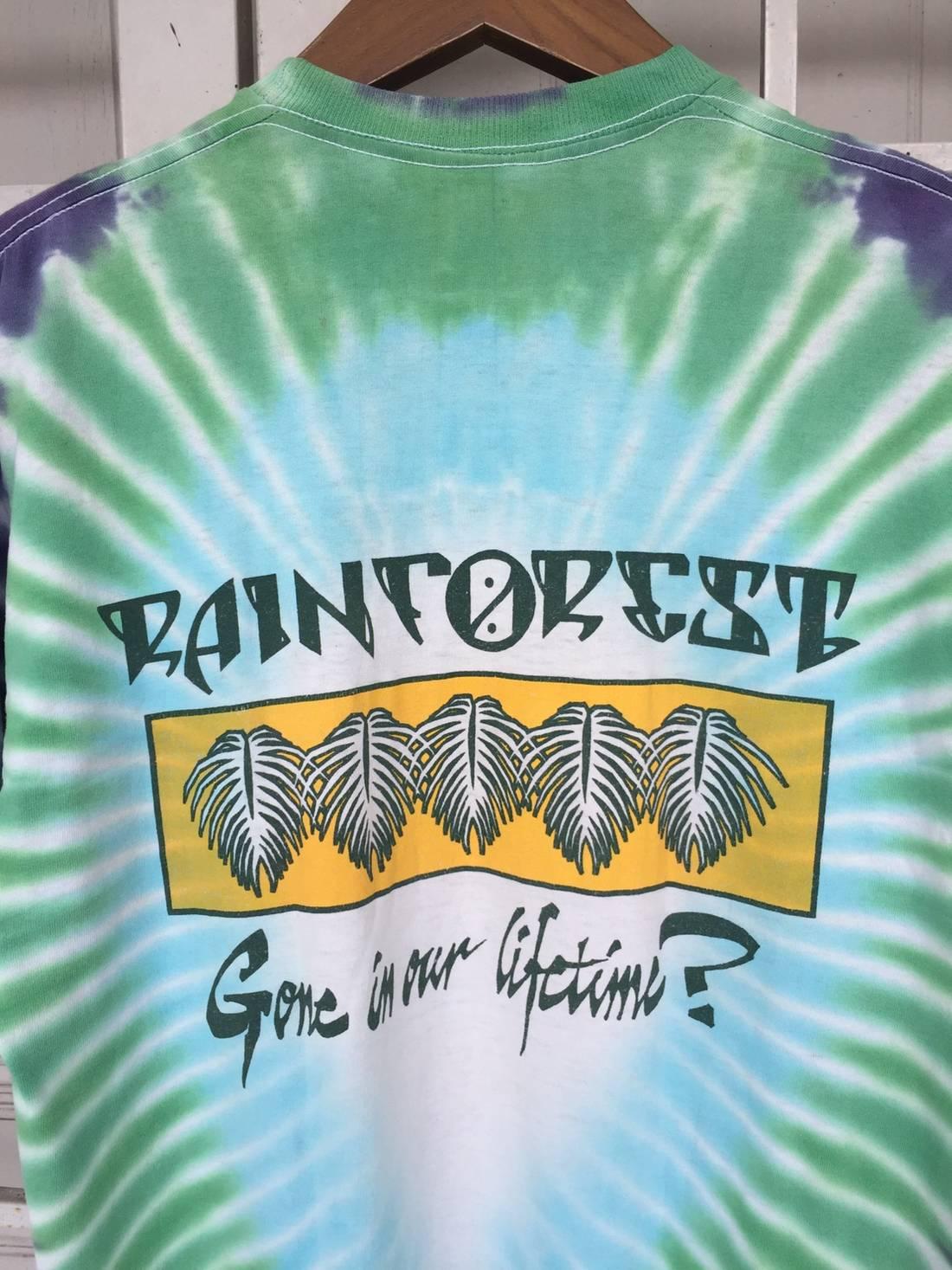 Vintage 80's Rainforest Tie Dye bVdsmvwS