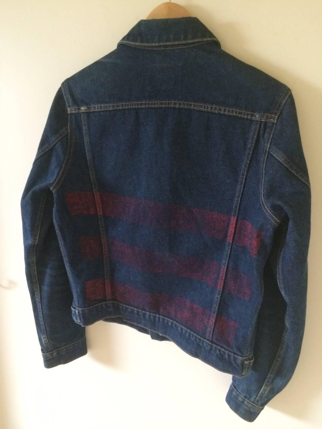 Striped Denim Jacket Helmut Lang Cheap Sale Pictures v7h6uZ