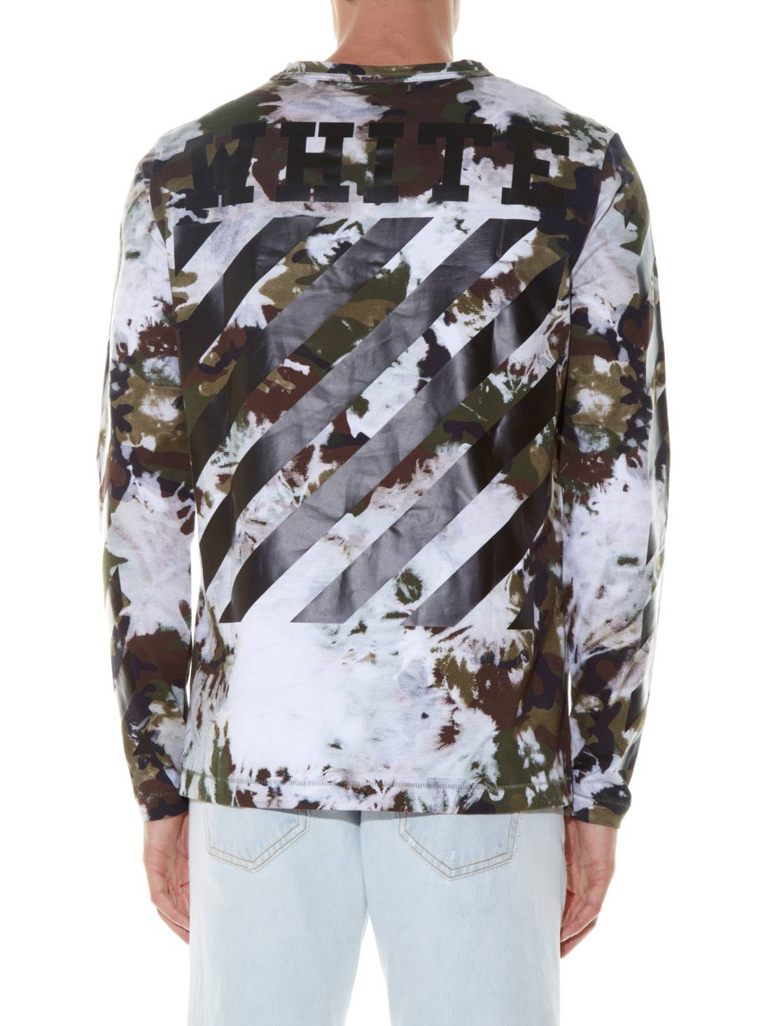 camouflage print long sleeve t-shirt Off-white Shop Offer Online 6XlqNoS6