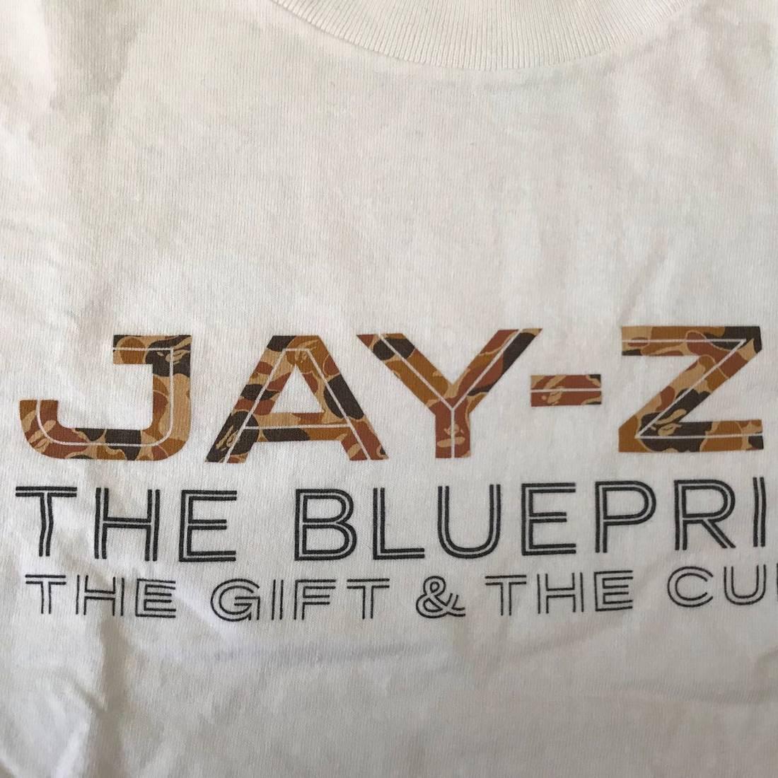 Bape bape x rocafella records jay z the blueprint 2 album release bape bape x rocafella records jay z the blueprint 2 album release rare tee size malvernweather Images