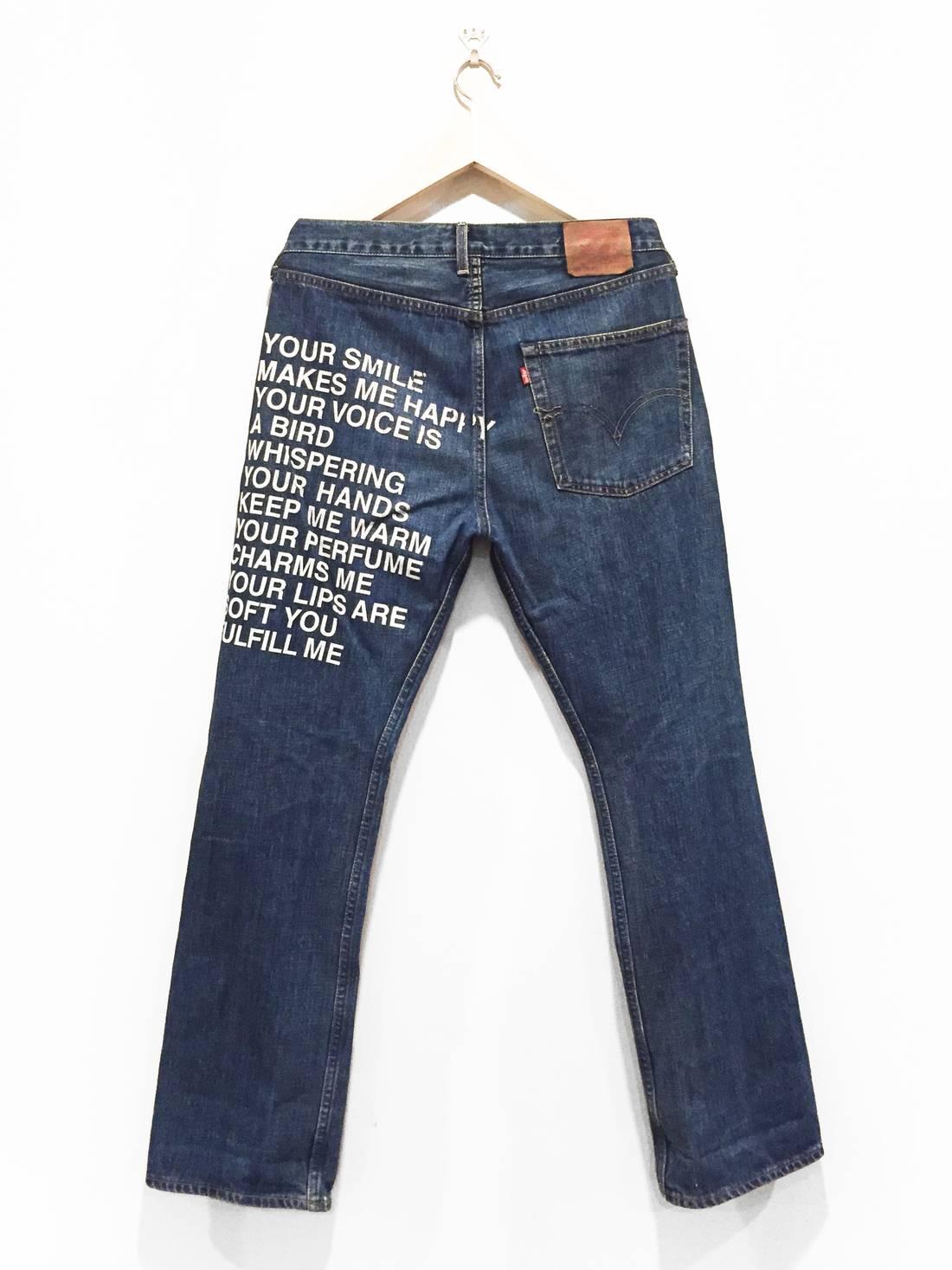 DENIM - Denim trousers Poems