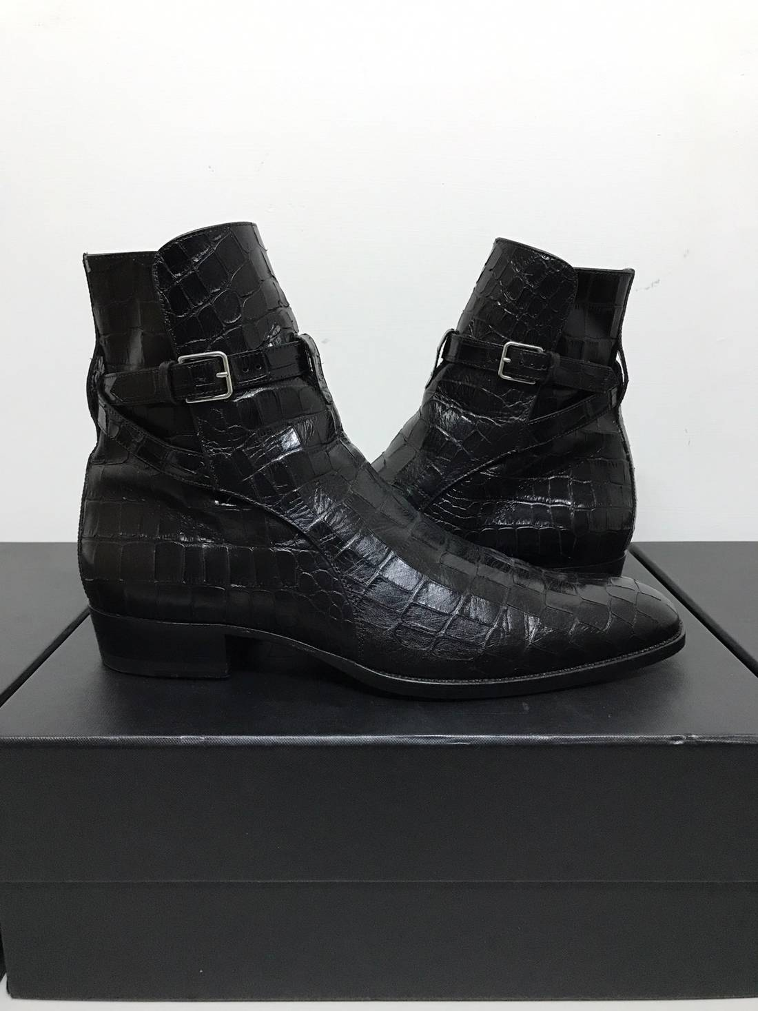 Wyatt 30 Jodhpur boots - Black Saint Laurent