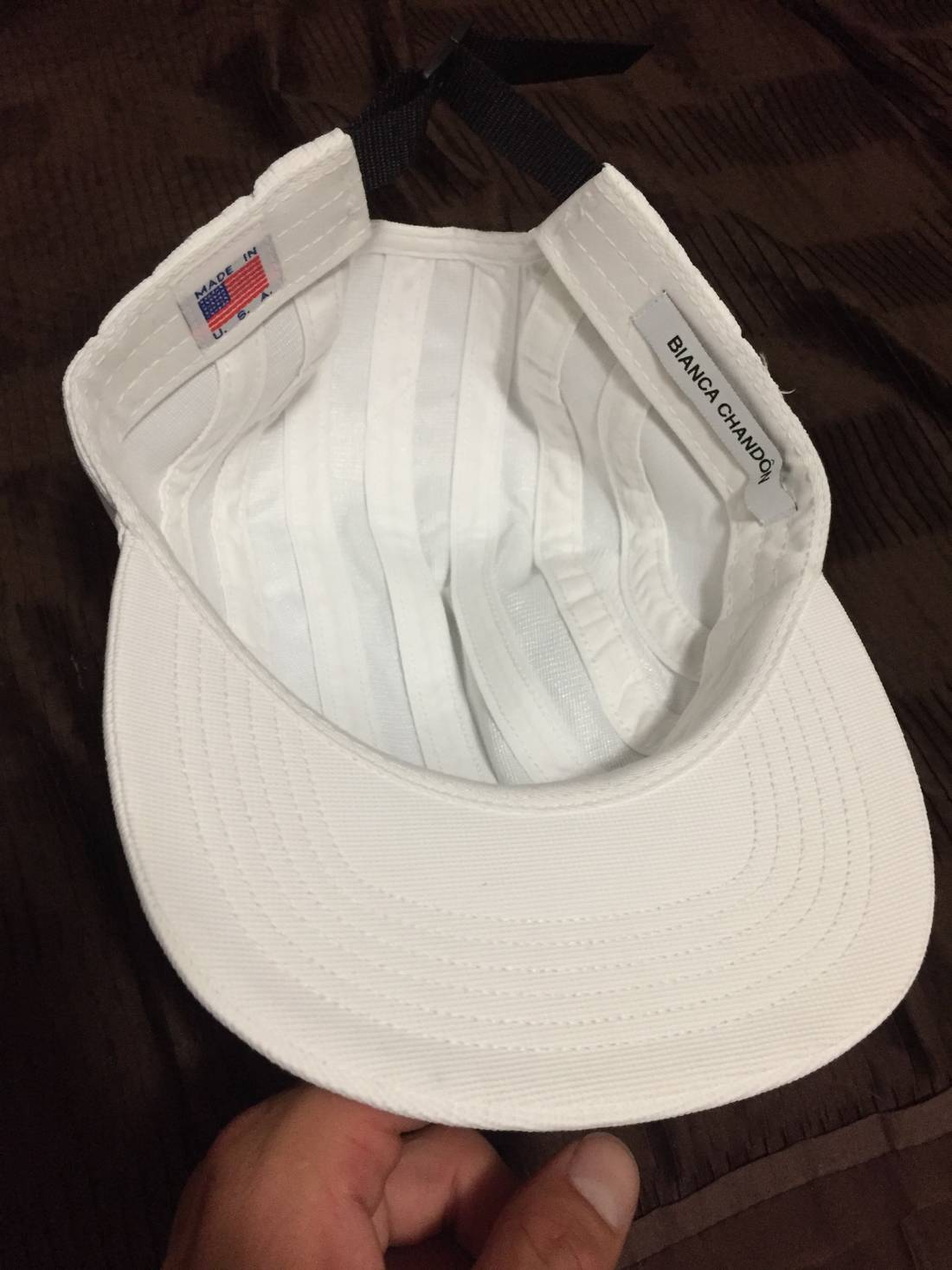 ... Bianca Chandon 8-PANEL LOGOTYPE HAT Size ONE SIZE - 2