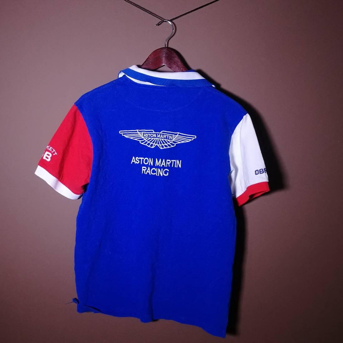 ett Rare ett London Aston Martin Racing Polo Shirt Mens M ...