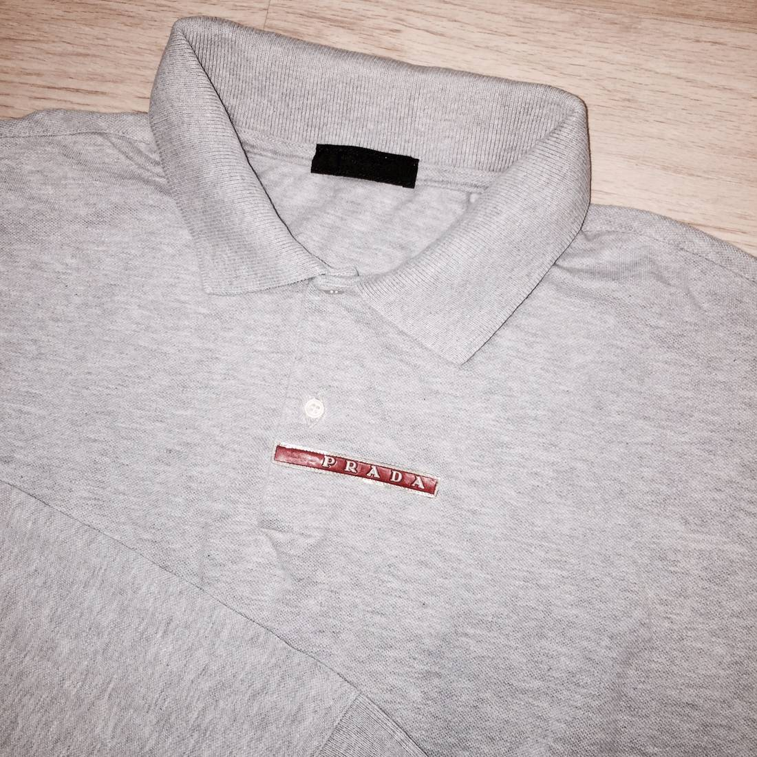 9d4aa7bb Prada Polo Shirt Red | RLDM