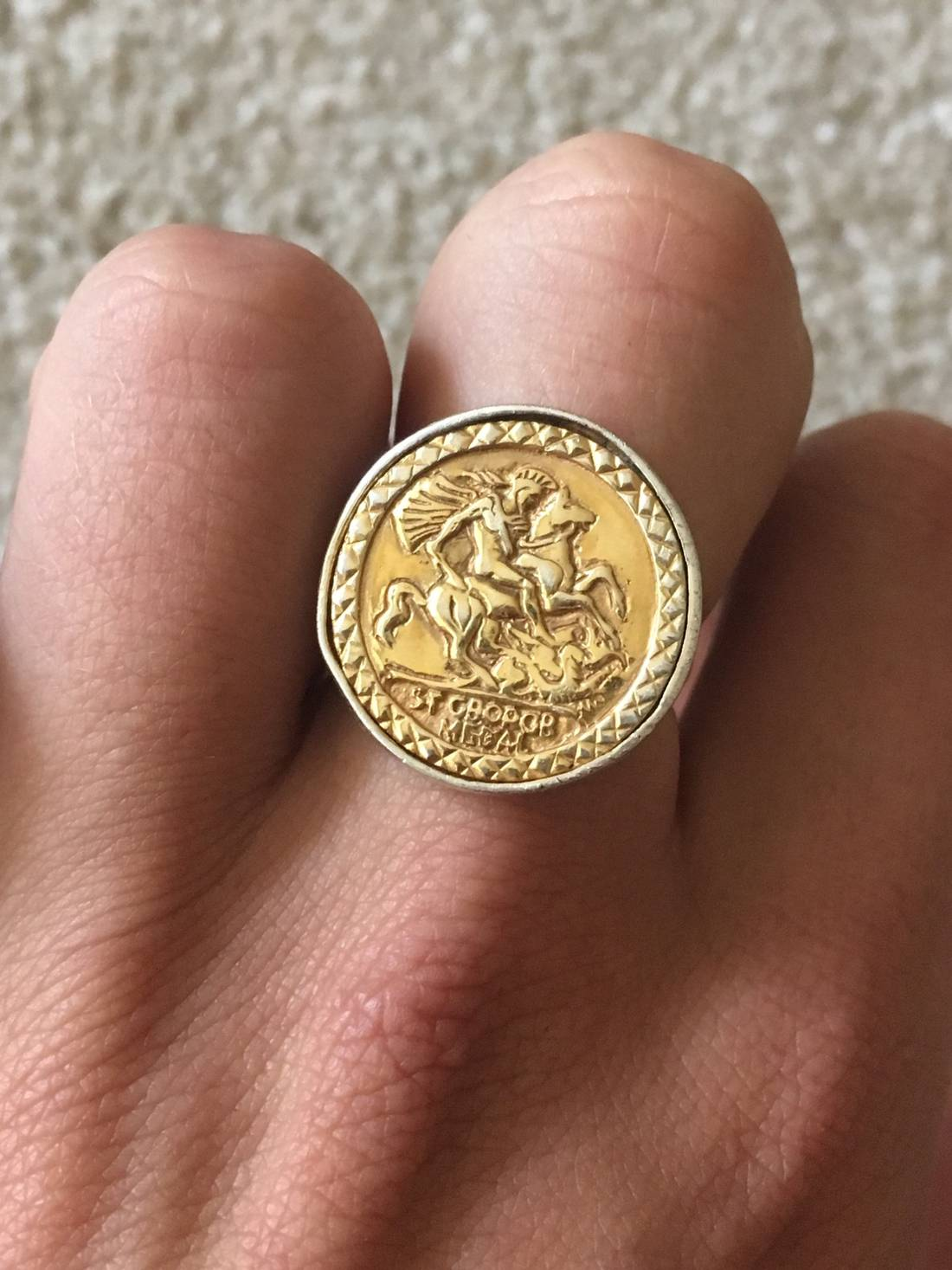 ring sovereign collection sovereigns bridge rings the s rundell