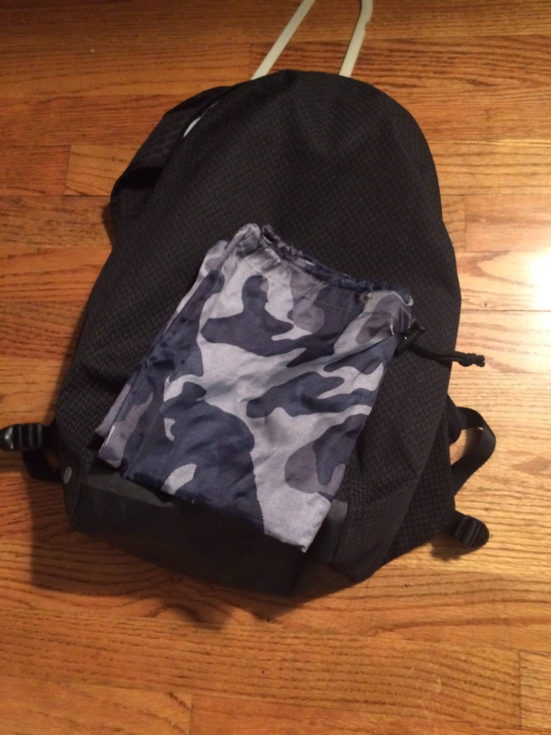 6d2c240080 Lululemon Camouflage Backpack   Building Materials Bargain Center