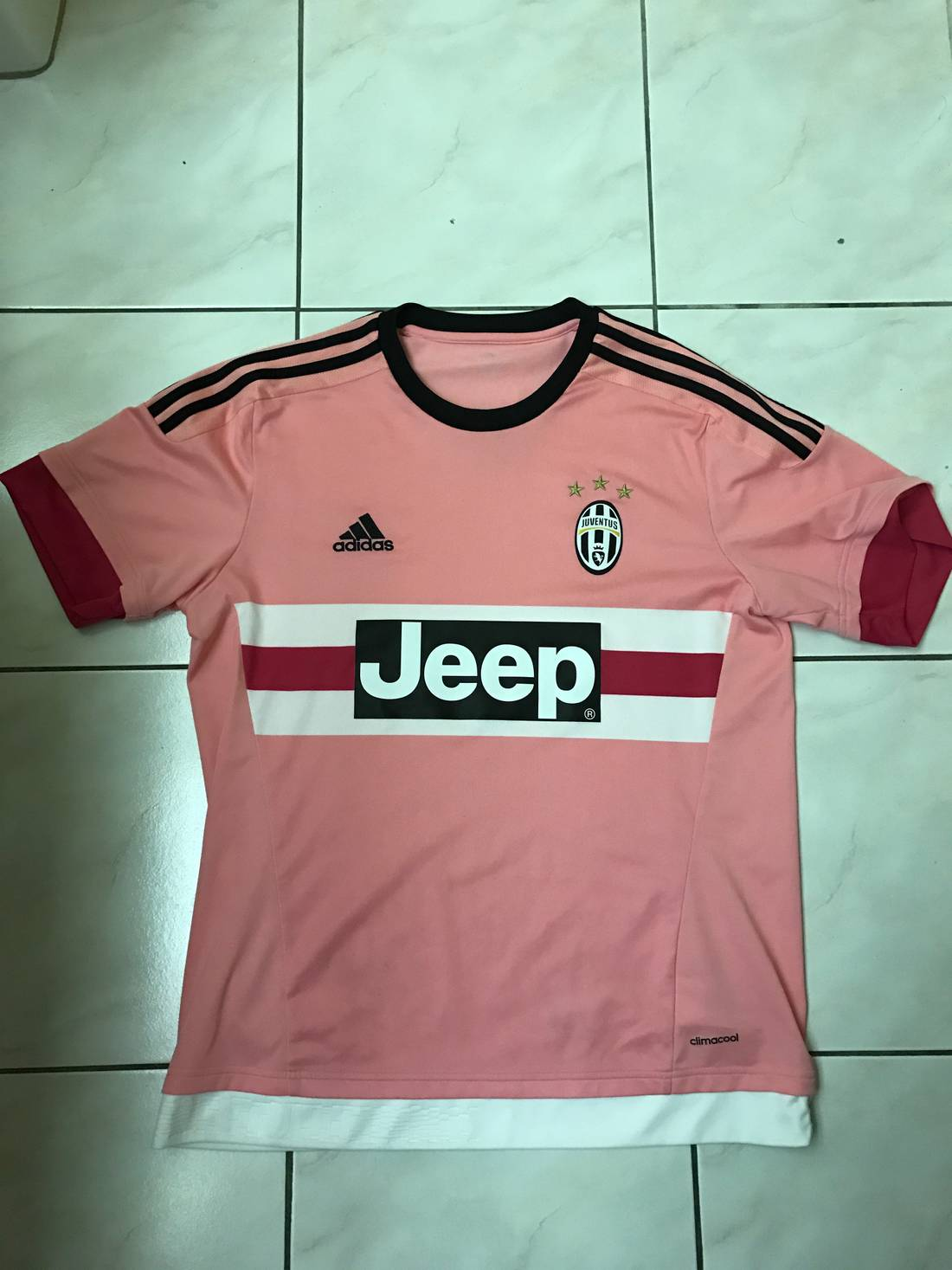 e8d1c1064 ... adidas juventus pink away jersey perfect condition as seen on drake size  us l