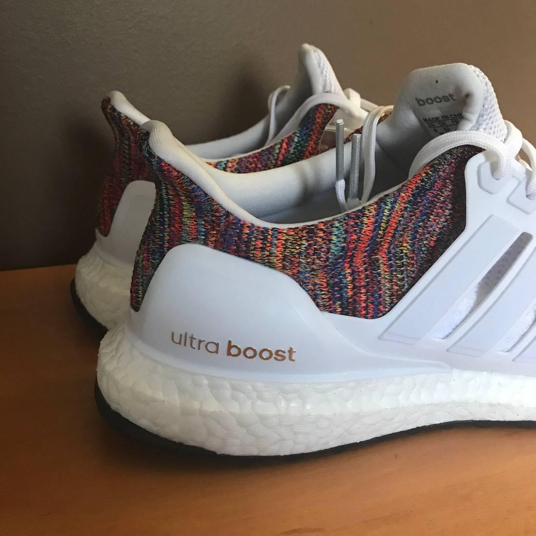 f09f10f370e0 usa adidas ultraboost 2.0 rainbow multicolor size us 10 eu 43 2 abb3f 8fa38