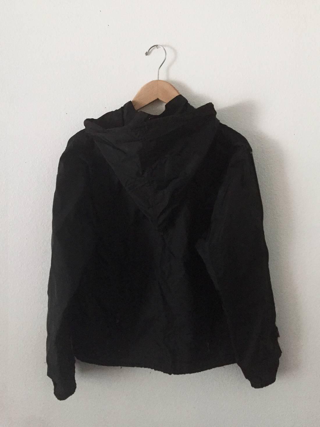 issey miyake black survival jacket size xxs raincoats for sale