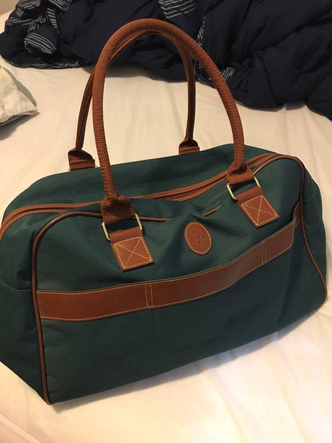 9dd4d722b9f Polo Ralph Lauren Leather Duffel Bag   ReGreen Springfield