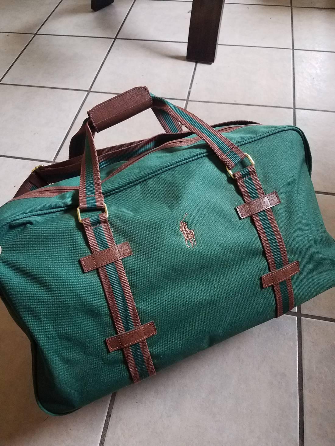 dd7cea968aca Polo Ralph Lauren Duffle Bag Blue Green