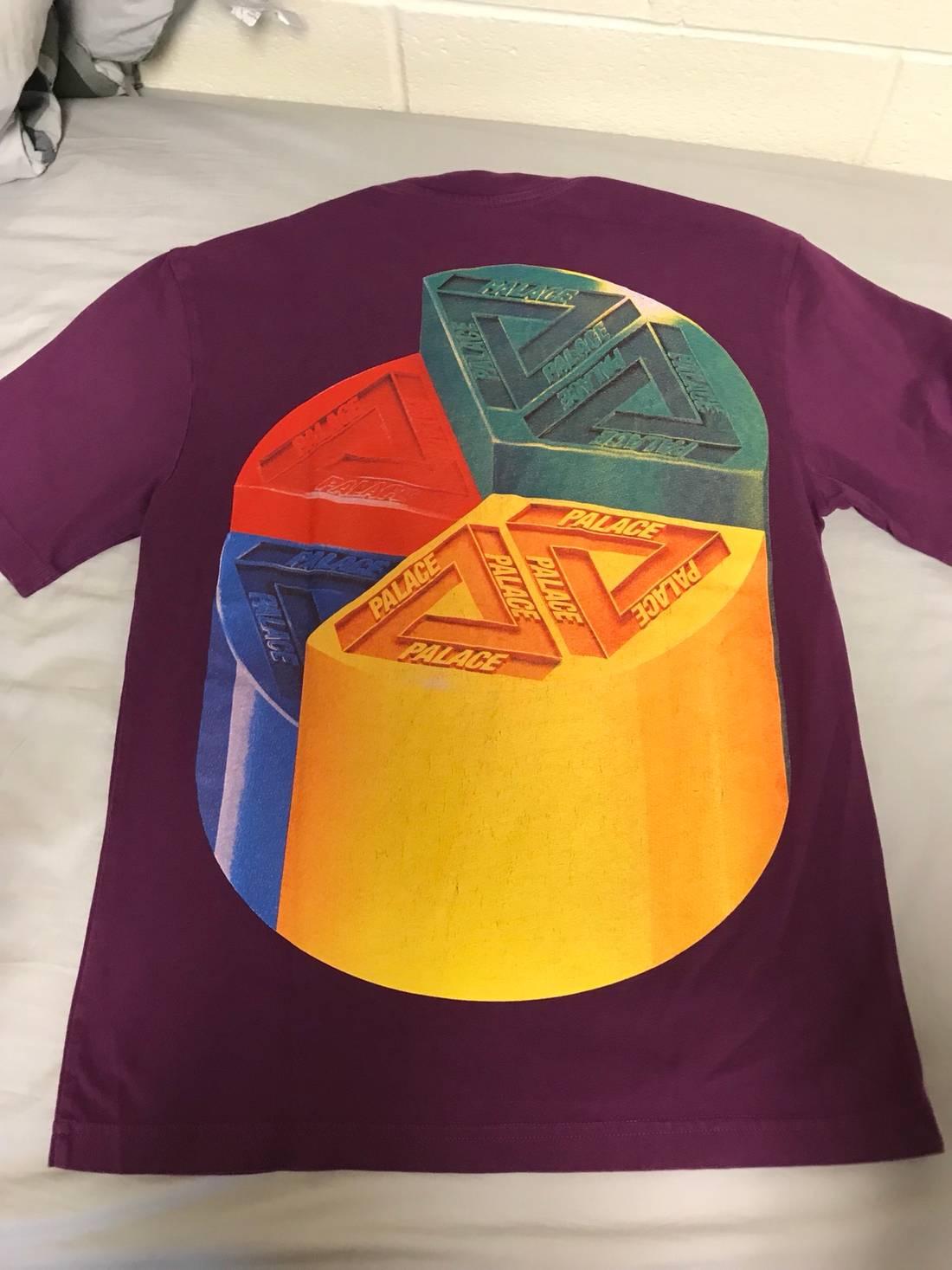 Palace palace pie chart tee size s short sleeve t shirts for sale palace palace pie chart tee size us s eu 44 46 1 nvjuhfo Image collections
