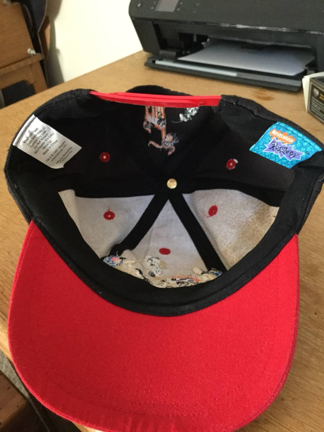 cd823837d8a ... inexpensive hat vintage 1997 nickelodeon rugrats snapback size one size  2 c6254 58045