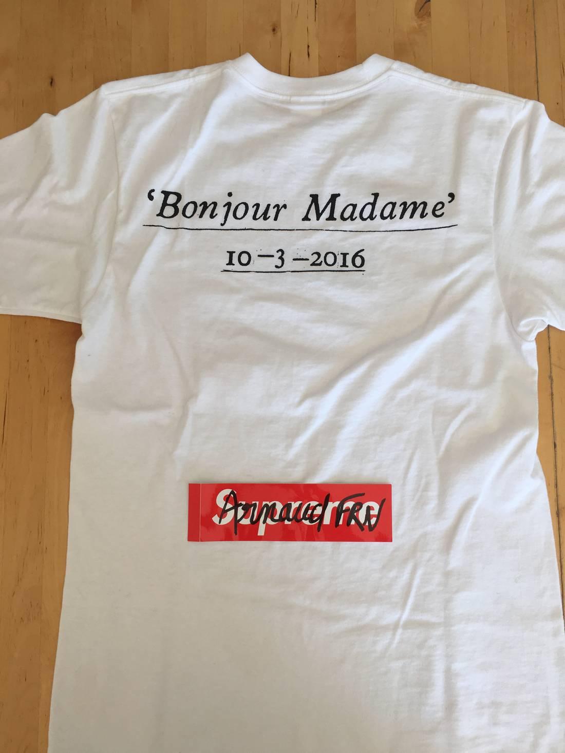 Supreme Box Logo Long Sleeve T-Shirt Size M Kmart Blank Bogo White