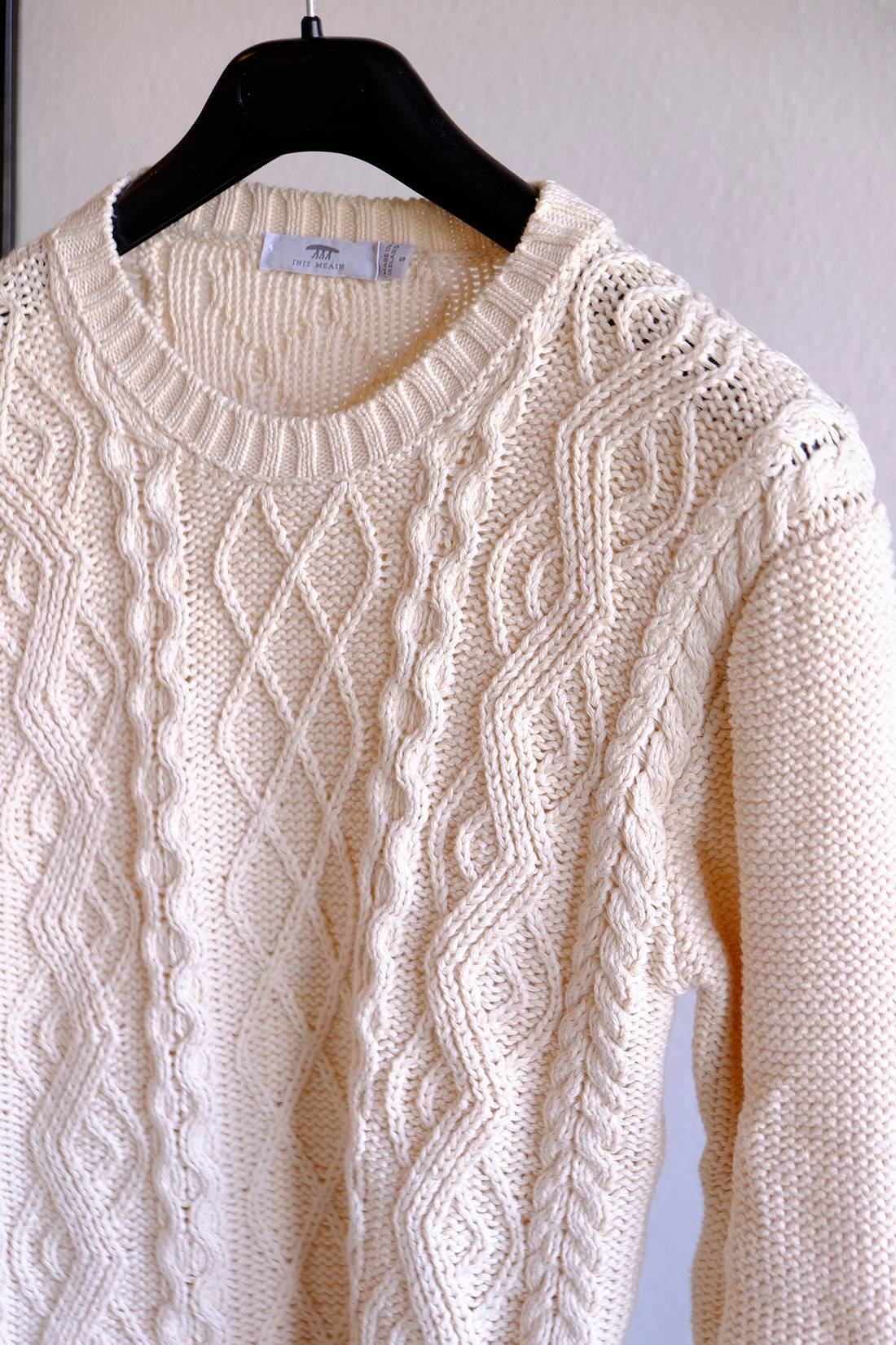 Inis Meain Ivory cotton sweater Size s - Sweaters & Knitwear for ...
