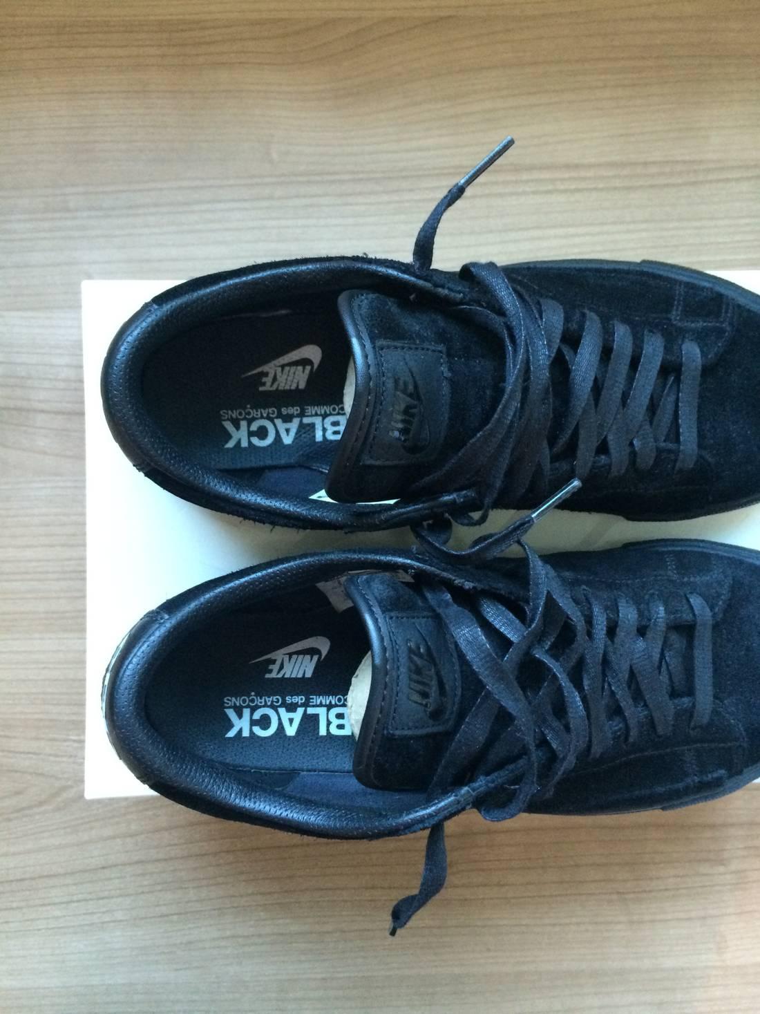 on sale 558f3 e75c5 aliexpress black comme des garcons nike blazer low premium ...