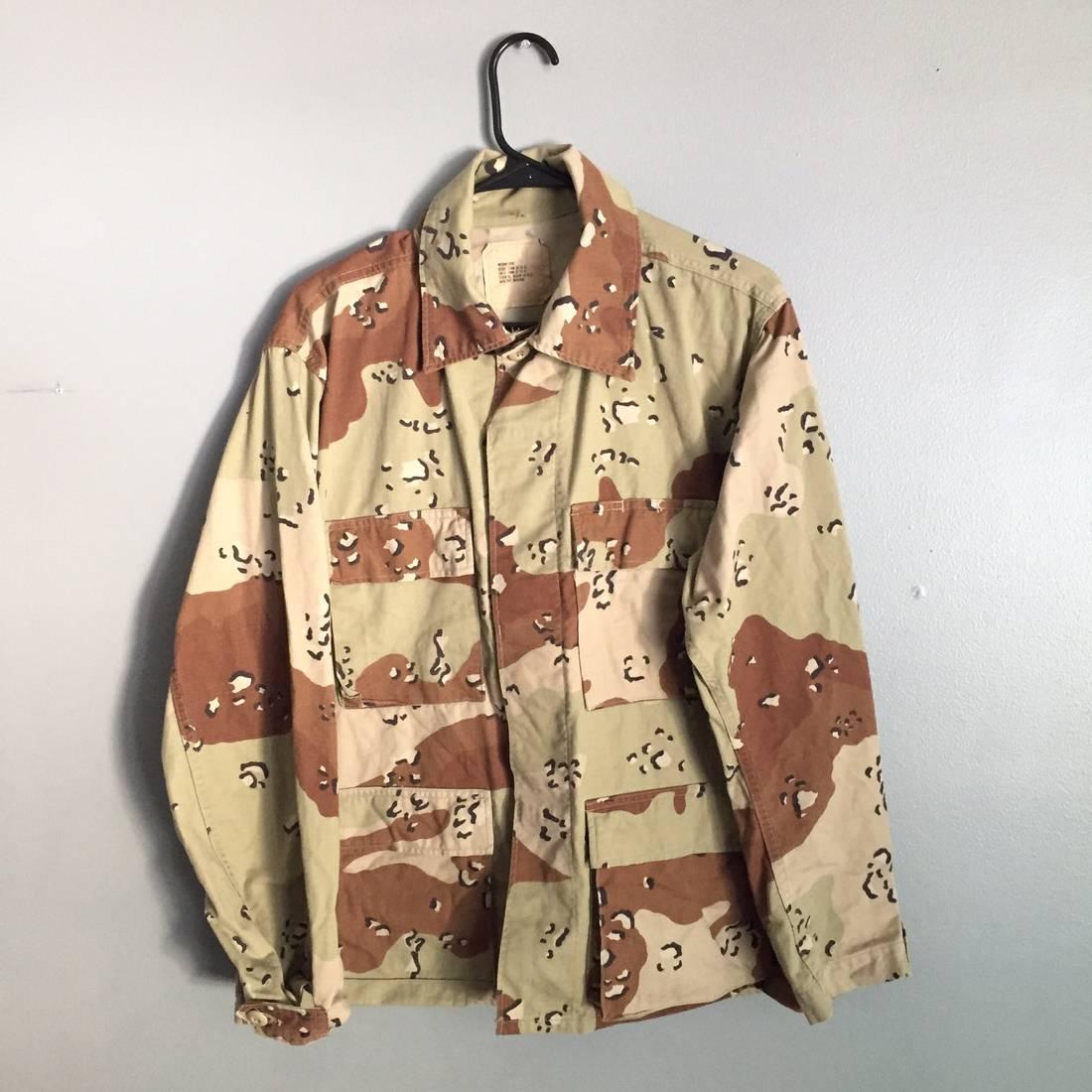 VINTAGE DESERT CAMO Cropped Jacket