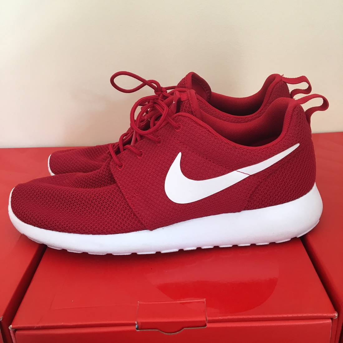 d458bbd3d coupon for nike nike roshe one gym red white size 10 vnds size us 10 eu