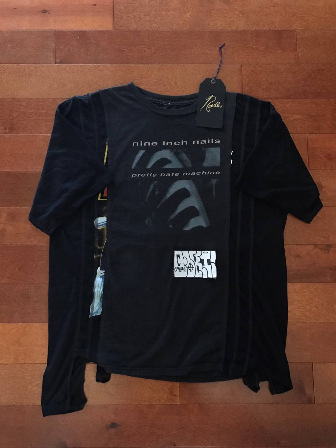 Needles Rebuild by Needles 7 Cut Vintage Nine Inch Nails Tee (1 of 1 ...