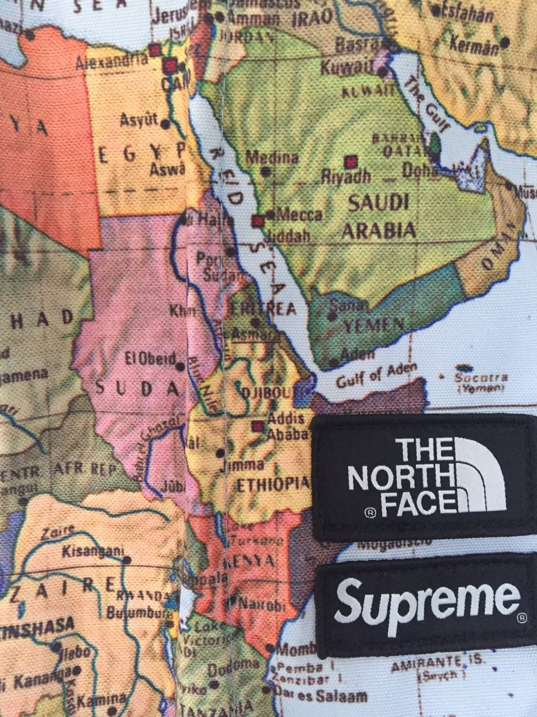 Supreme supreme x tnf ss14 map backpack size one size bags supreme supreme x tnf ss14 map backpack size one size 2 gumiabroncs Choice Image