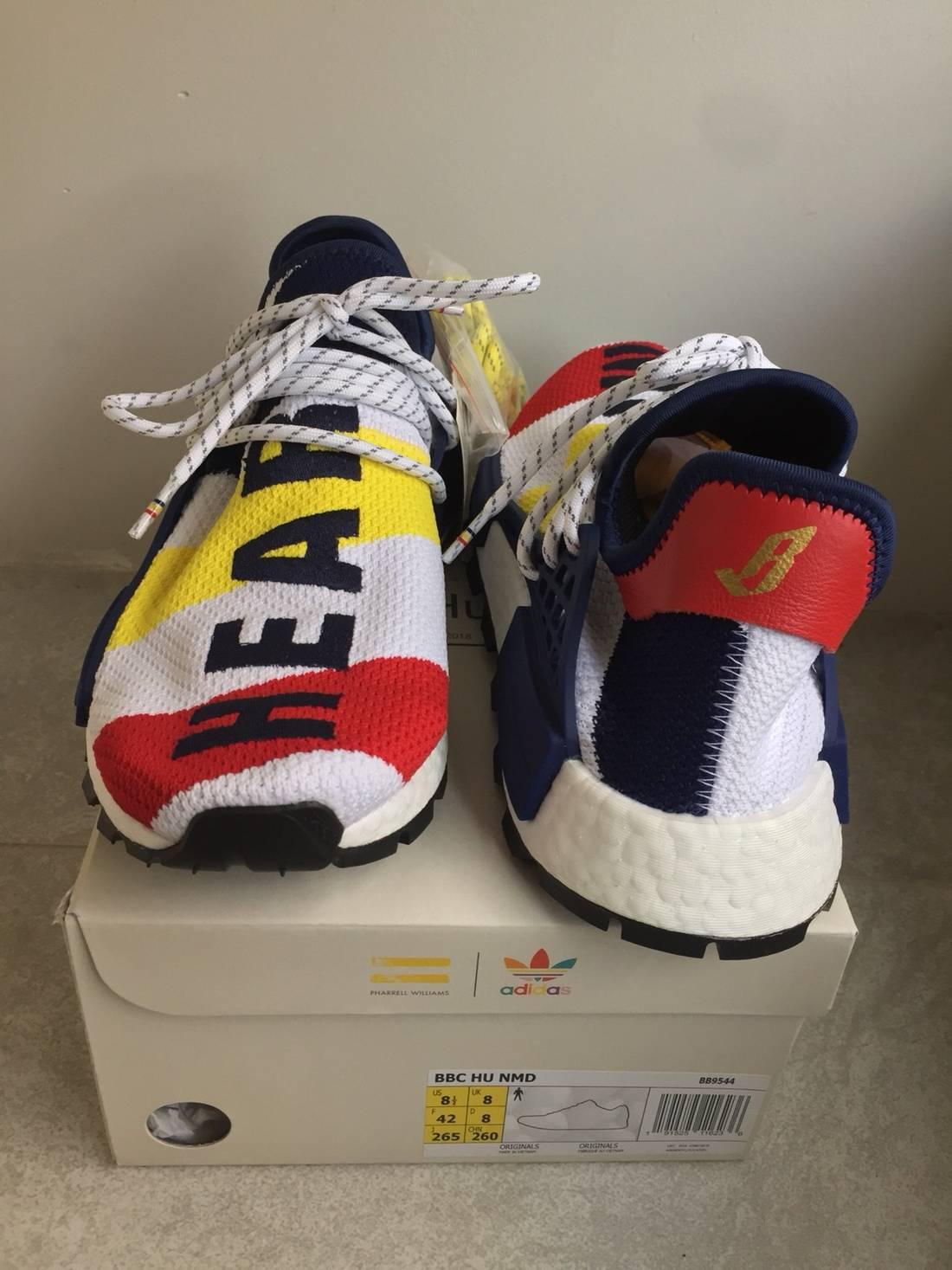 37d719579 Adidas Billionaire Boys Club x Adidas Nmd Hu Pharrell 8.5 BBC Human Race  BB9544 Size US .