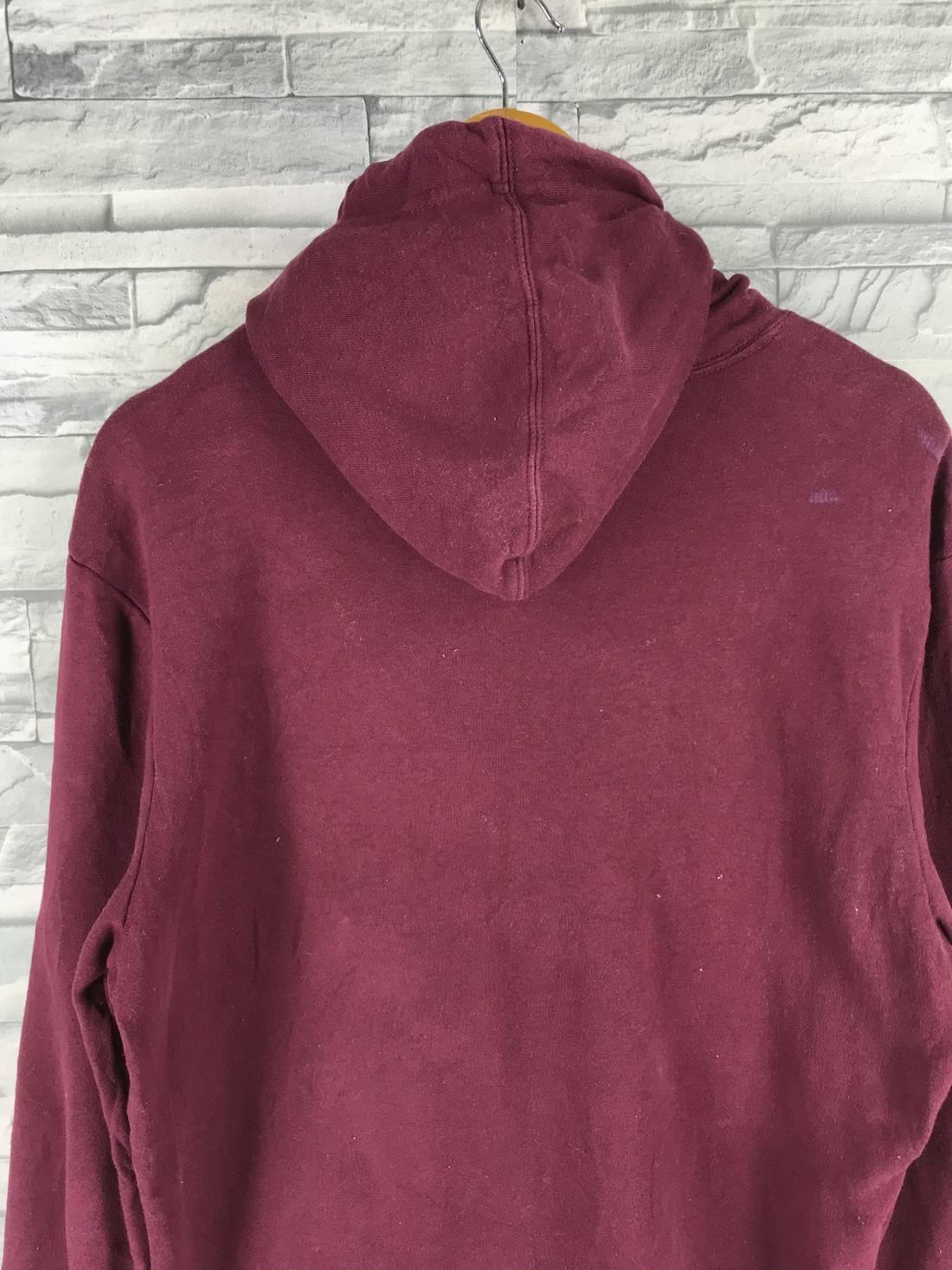Gap Vintage Hoodie Sweatshirt Ladies Medium Spell Out Sportswear Usa Sweater Burgundy