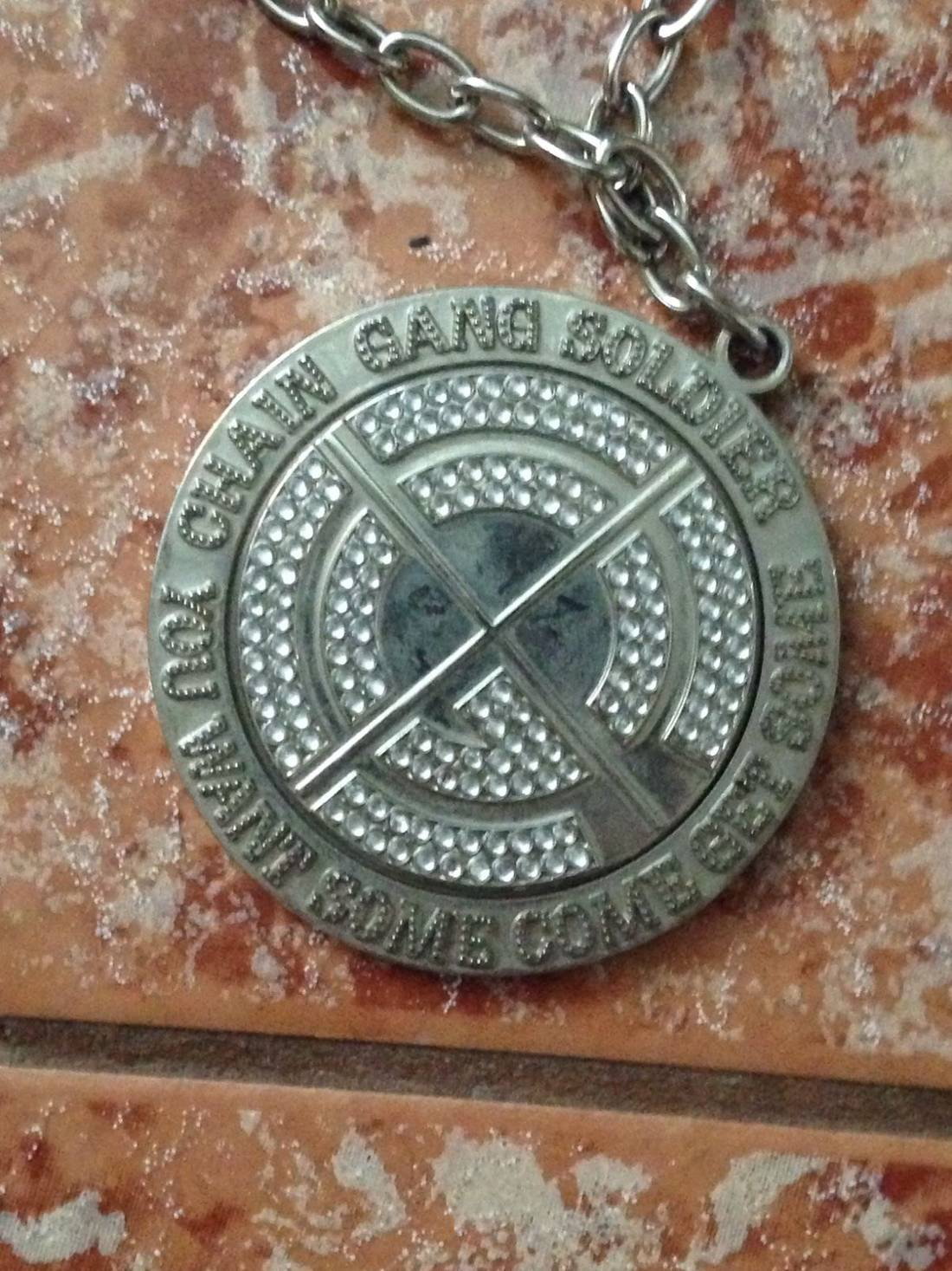 Wwe john cena chain gang spinner necklace size one size jewelry wwe john cena chain gang spinner necklace size one size 2 aloadofball Images