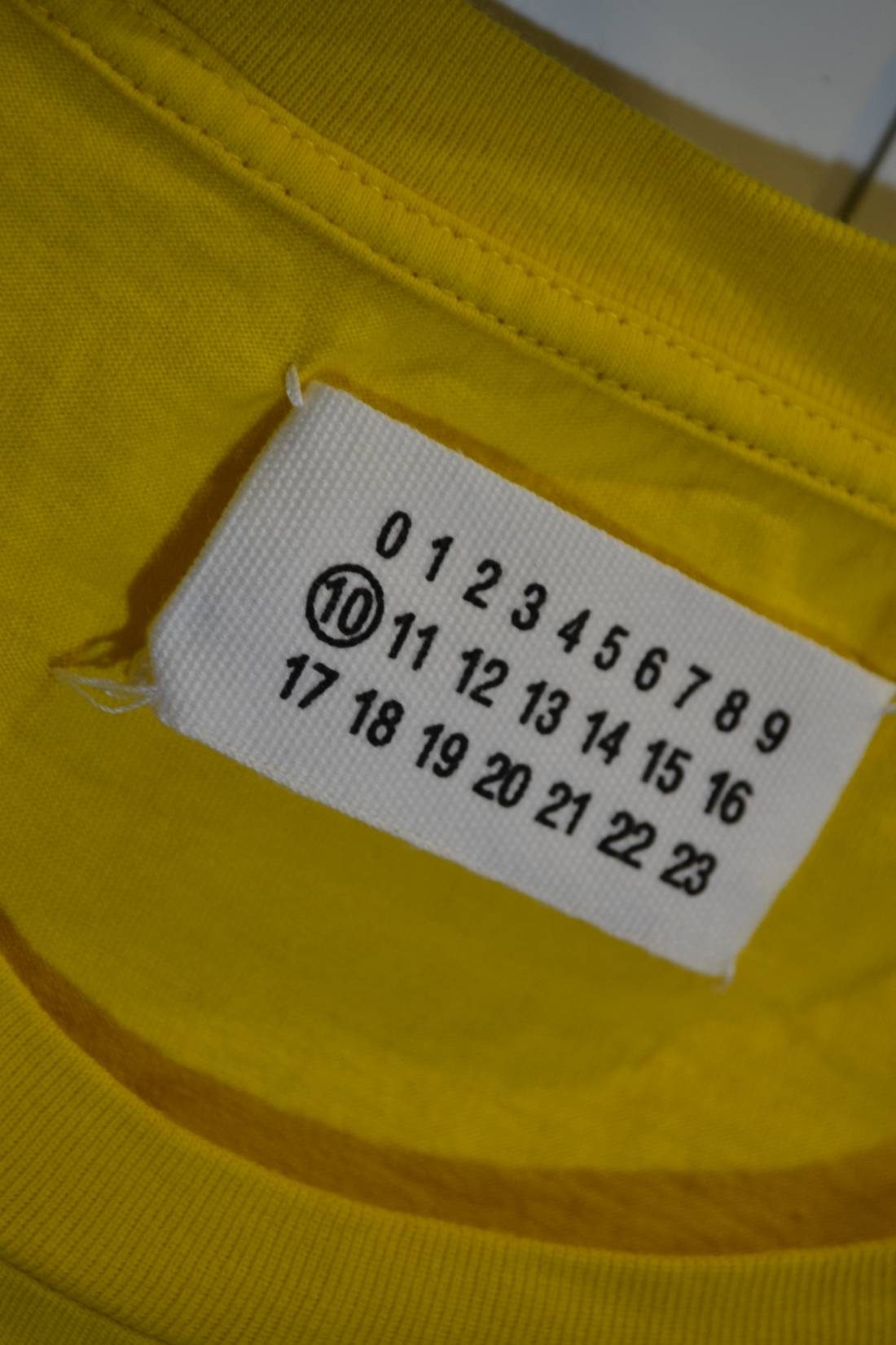 Maison Margiela New Maison Martin Margiela 46 Size S Yellow Colour