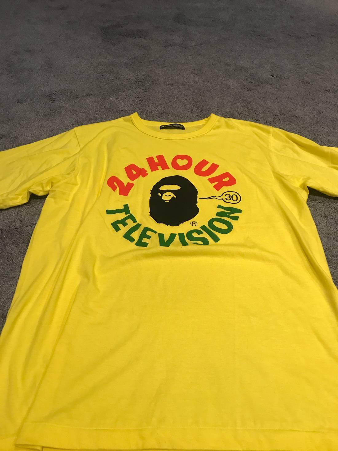 Bape Bape  Hour Television T Shirt Size Us L Eu