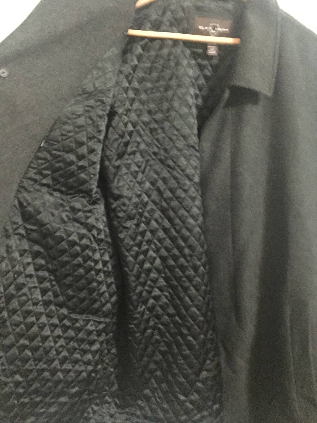Black Brown 1826 Black Brown Wool/Cashmere Coat Size xxl - Heavy ...