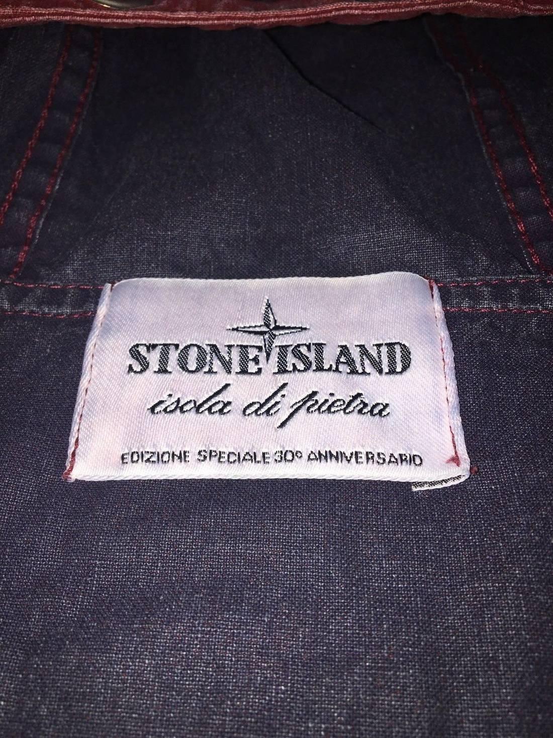 stone island stone island 30th anniversary tela stella jacket xxl