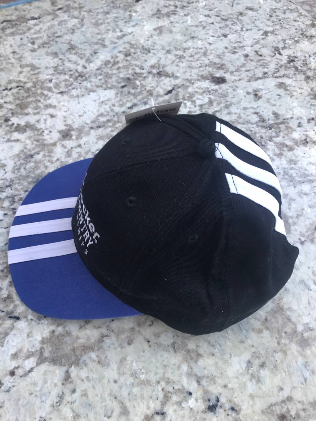bf729e287c9 detailed look 5bf19 1ff81 adidas vintage 80s hat size one size ...