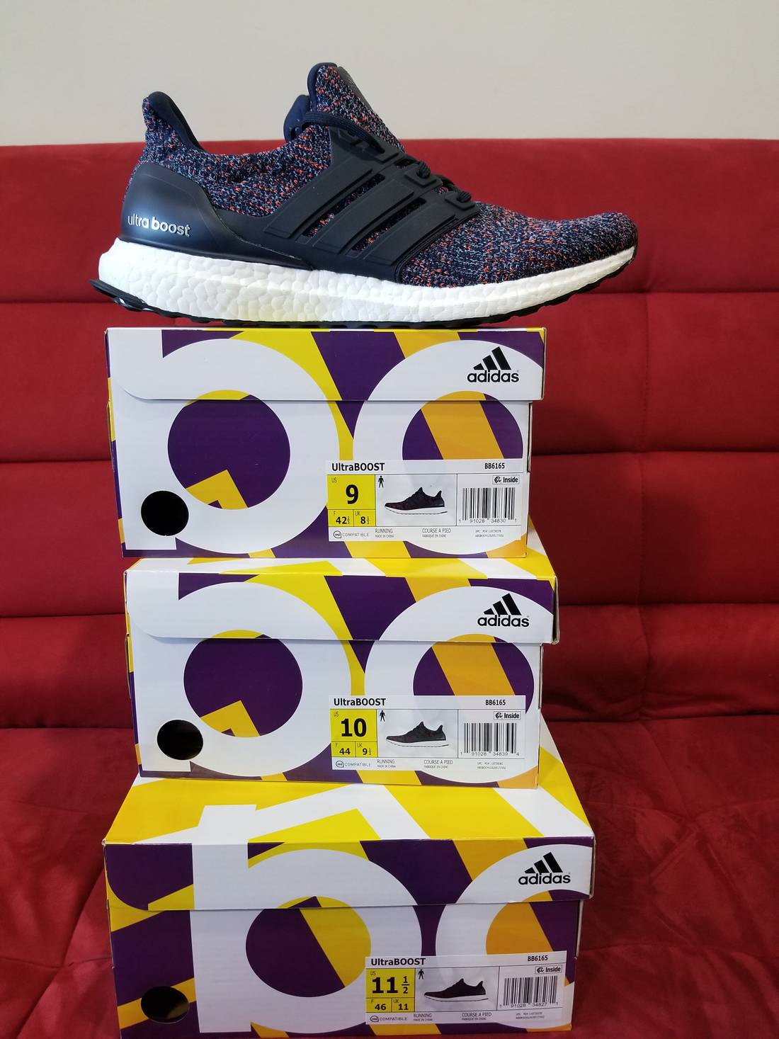 sports shoes af0bb fe521 Adidas Adidas ultra boost navy ultra multicolor Talla Adidas boost 9 Low  Top 1110c31 - trynewproducts.online