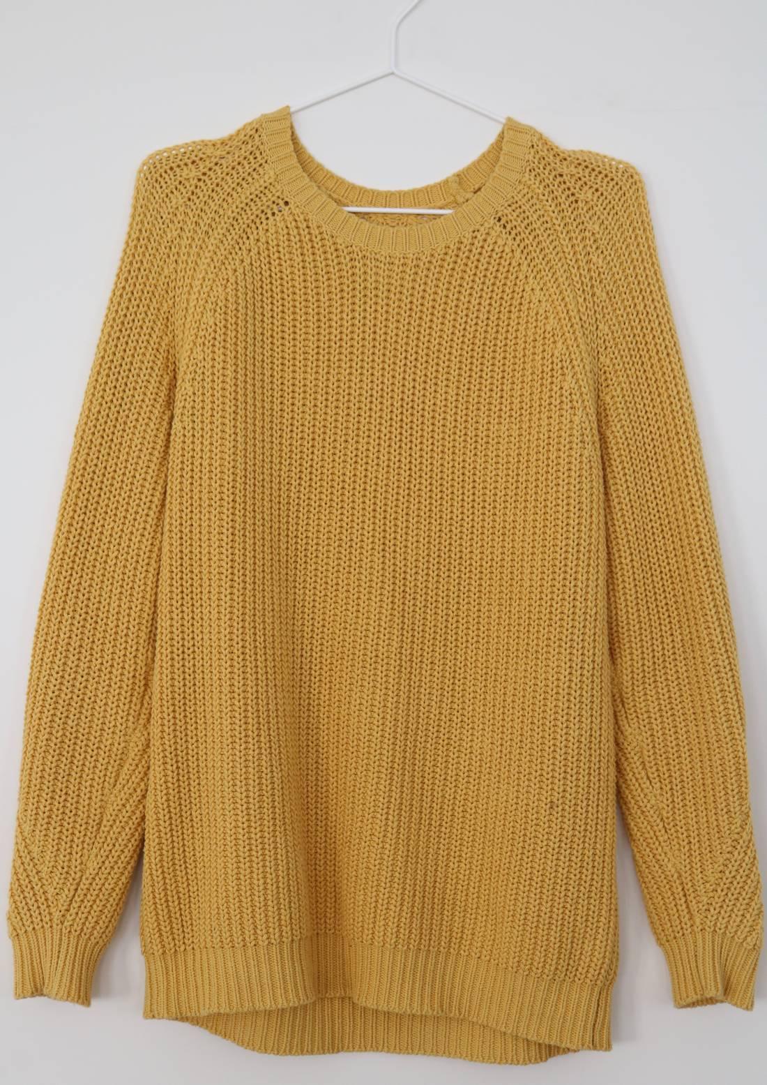 Folk Yellow Knit-Sweater Size l - Sweaters & Knitwear for Sale ...