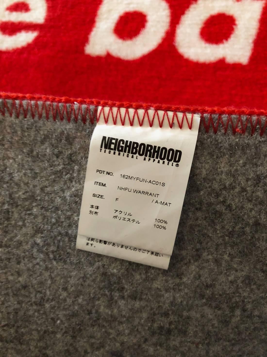 Neighborhood Neighborhood / Fuct Come Back With A Warrant Door Mat ...