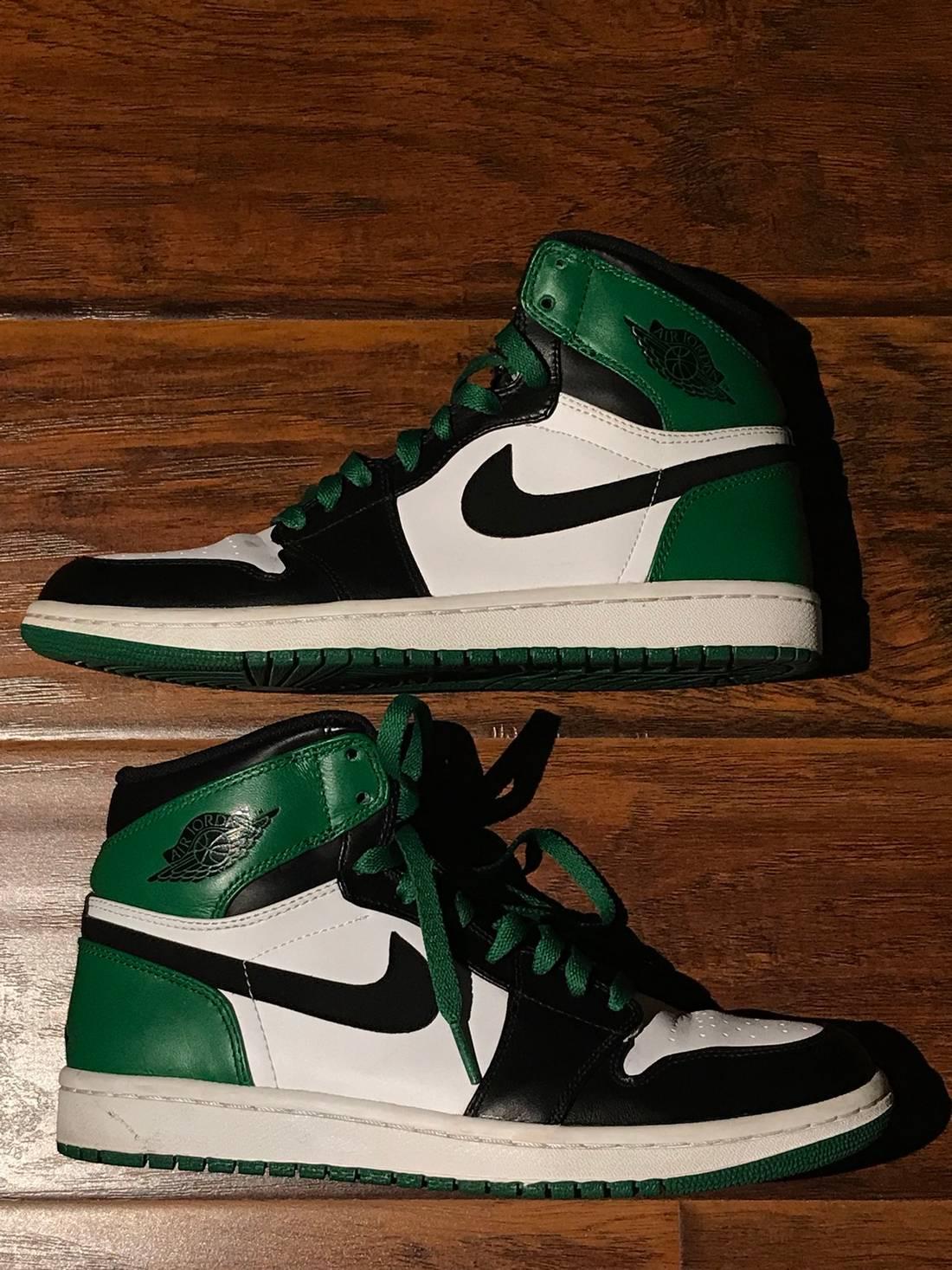 """435045f4e5085e Jordan Brand Air Jordan 1 DMP """"Celtics"""" Size US 8.5 EU . ..."""