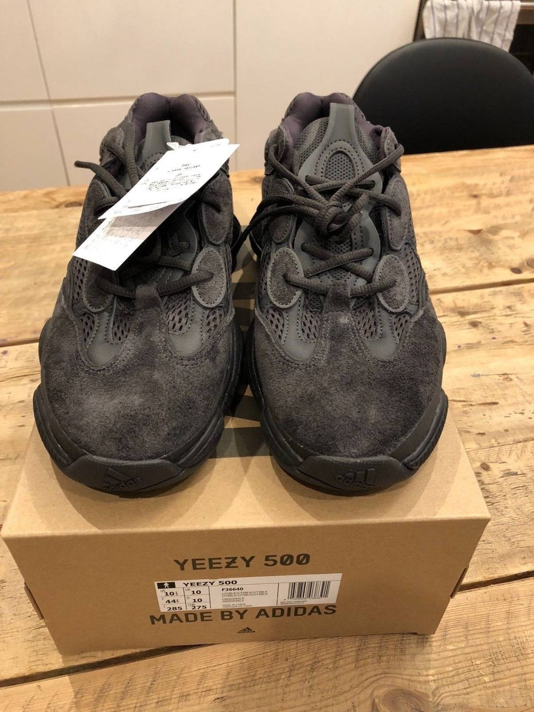 Adidas Yeezy Boost 500 Utility Black Size 10 5 Low Top Sneakers