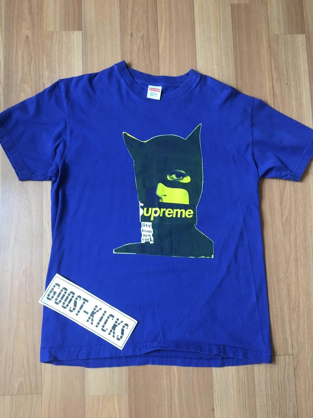 Supreme SUPREME Box Logo CATWOMAN BOX LOGO CATS TEE SHIRT Size US L EU 52