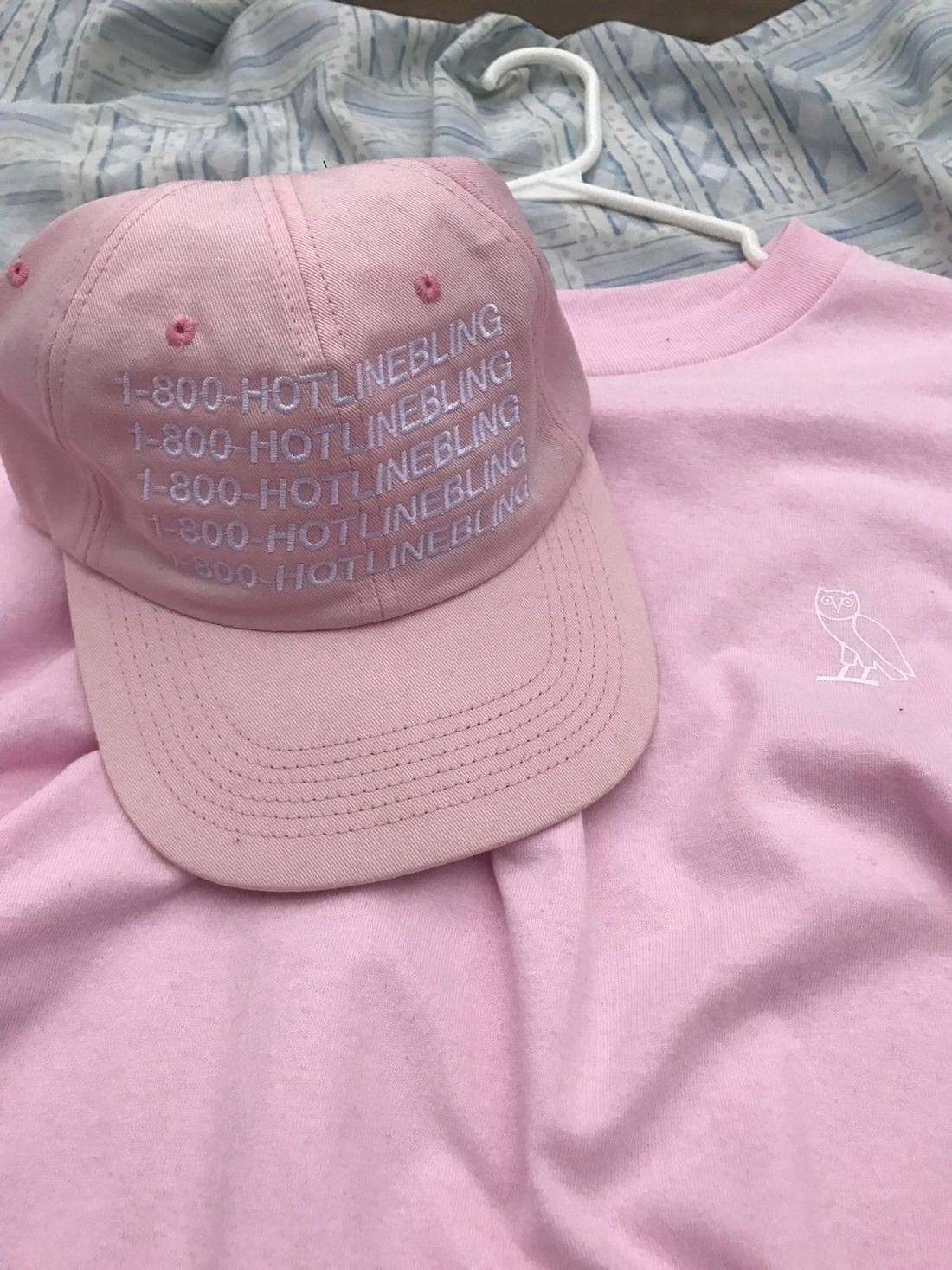 f48d7ef0 ... black clearance pricesvarious low cost drake ovo pink hotline bling hat  long sleeve t b8a17 bb7b8 ...