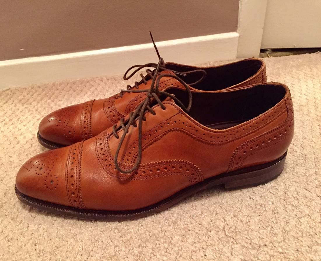 allen edmonds the bartlett strand size 11 formal shoes for sale