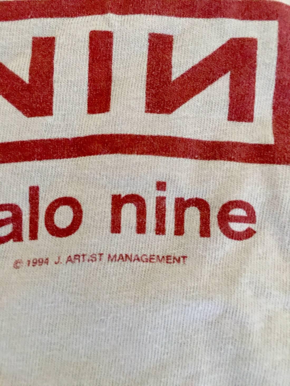 Vintage Vintage NIN Nine Inch Nails Closer To God Shirt RARE FEAR OF ...