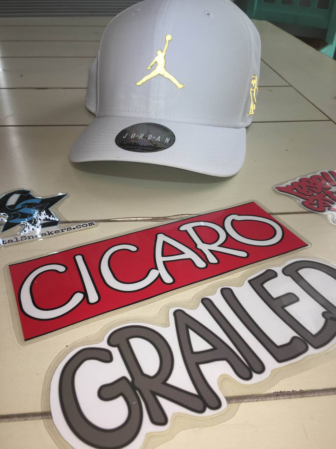 1626850a5 ... order jordan brand jordan x ovo white gold adjustable hat size one  7cdb5 a00ca