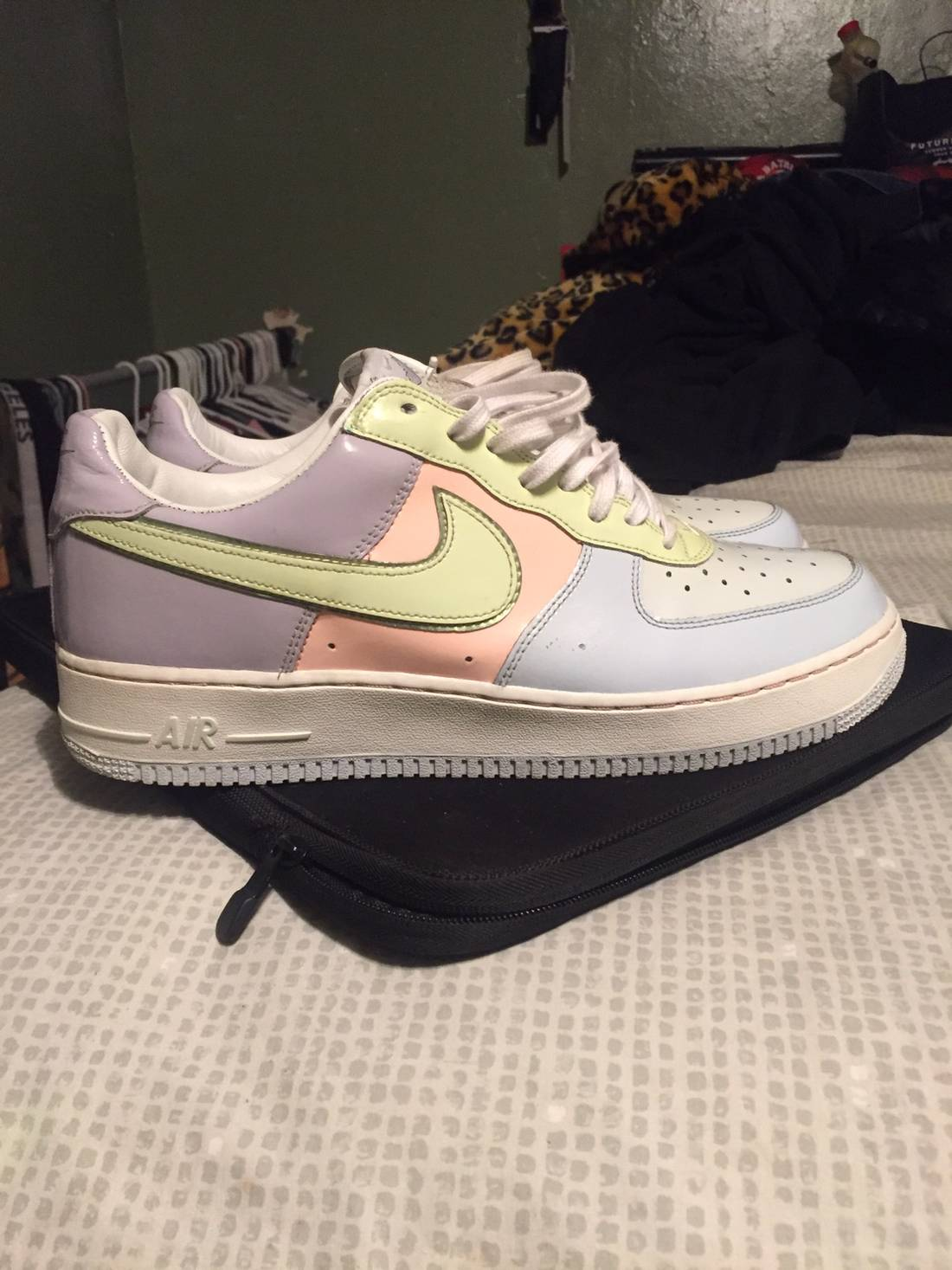 Nike 2005 Easter Egg Air Force 1 Premium Lows Size US 11  EU 44
