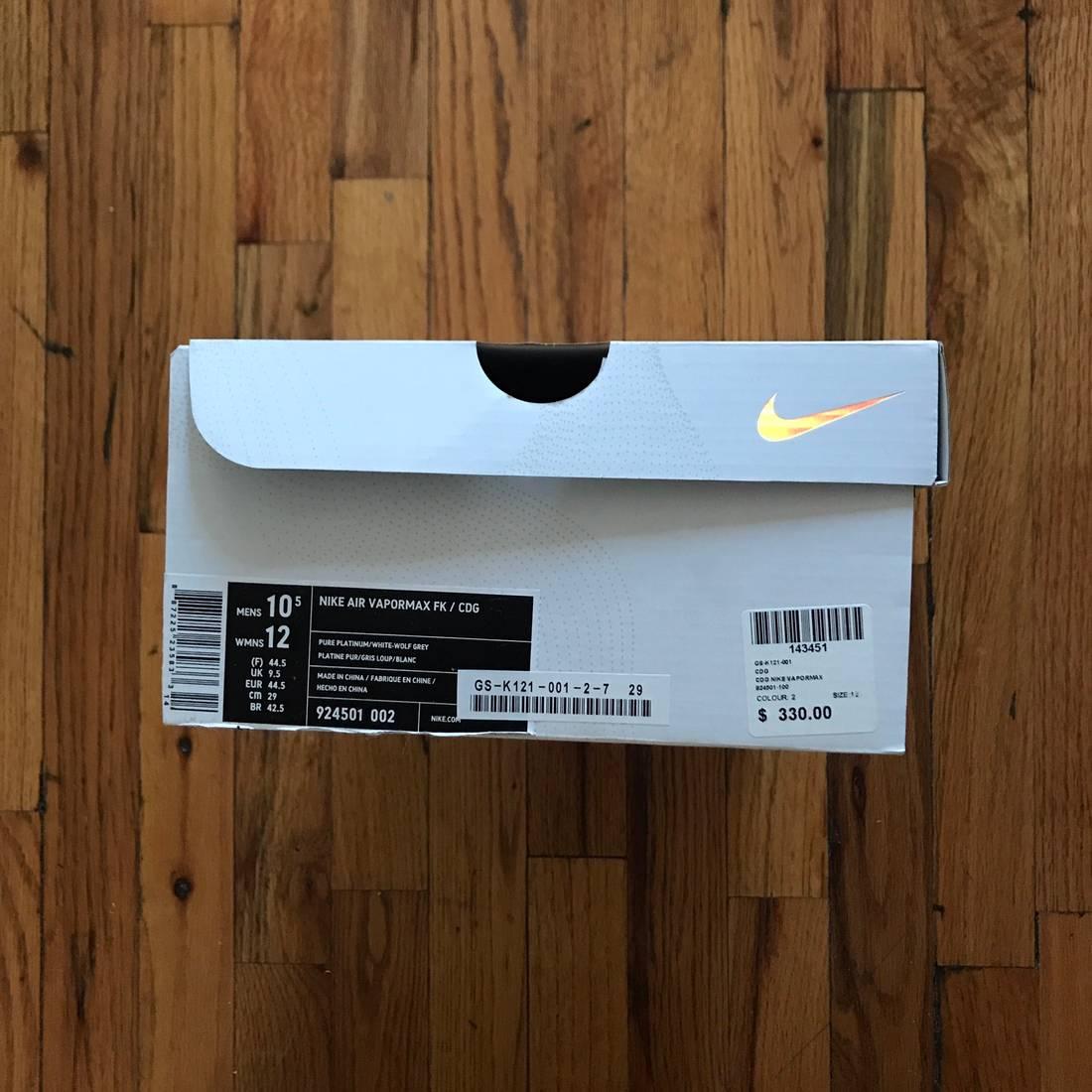Cheap Nike Air Vapormax Flyknit Midnight Navy Size 10