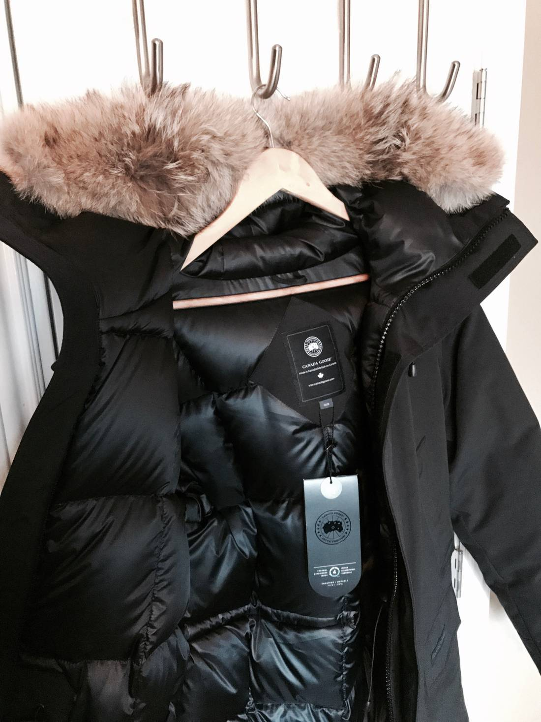 5570c26e797e2 ... best canada goose langford parka black label limited edition size us m  eu 48 56336 31447
