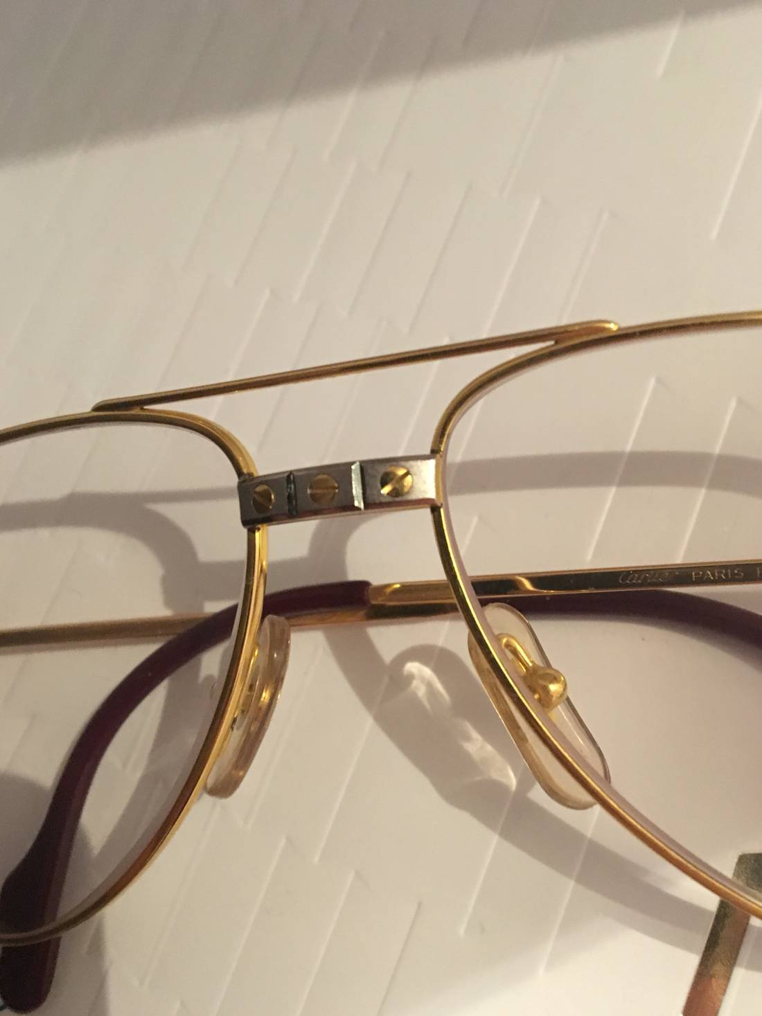 Cartier Must Cartier glasses Size one size - Glasses for Sale - Grailed